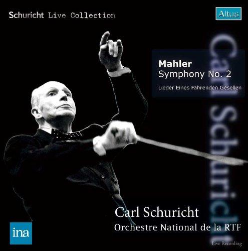 ALT176_177Schuricht / ORTF - Mahler : Symphony No.2 etc. (2CD, Mono)