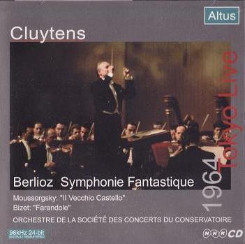 ALT003_Cluytens / Conservatoire - Berlioz : Symphonie fantastique etc. (1964 Tokyo Live)