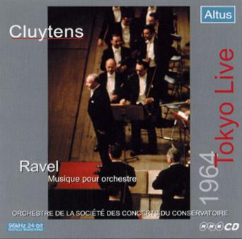 ALT004_5_Cluytens / Conservatoire - Ravel : Orchestral Works etc. (2CD - 1964 Tokyo Live, Mono)