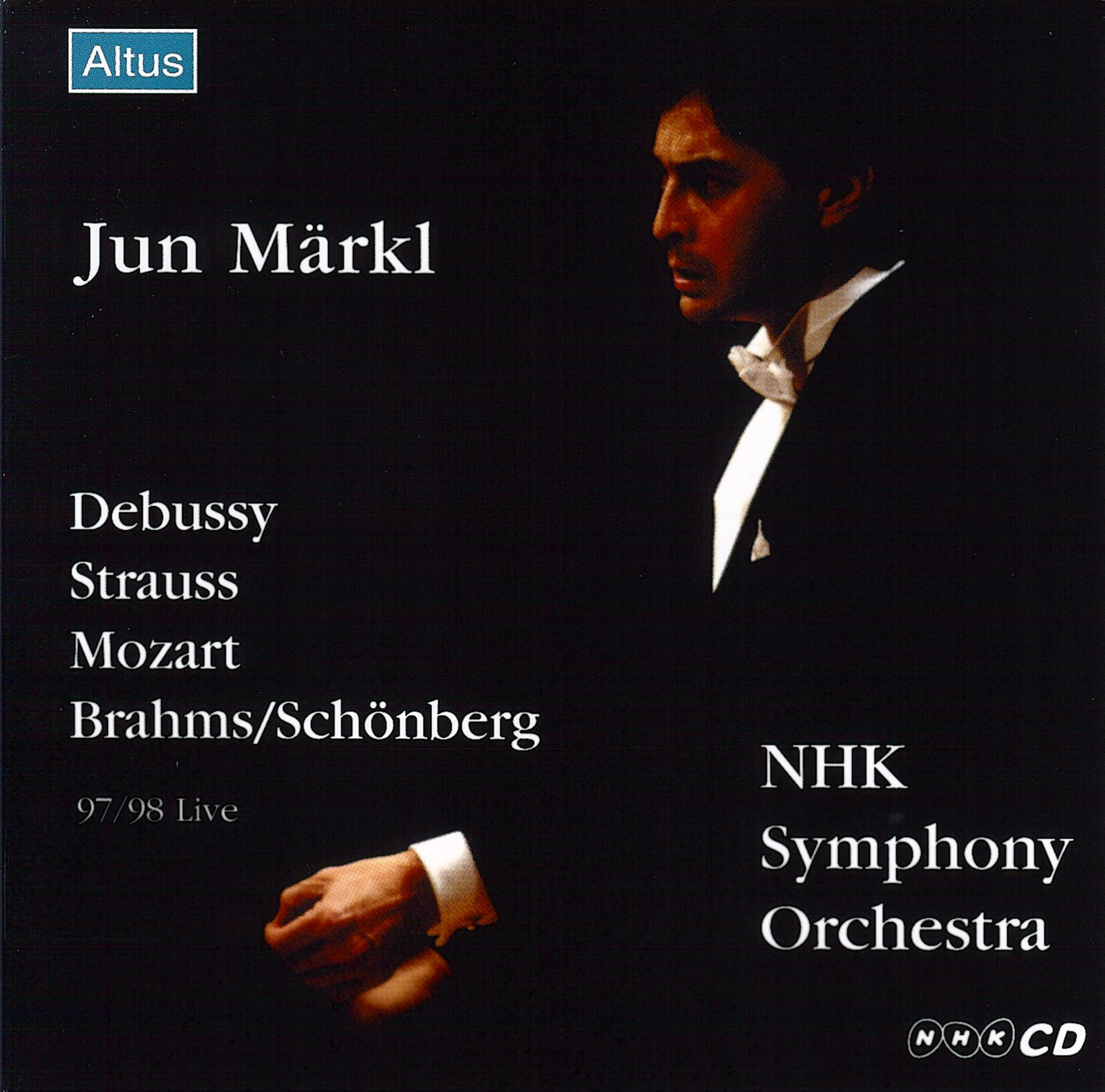 ALT006_007_Märkl / NHK so. - Brahms / Schönberg : Piano Quartet No.1 etc. (2CD)