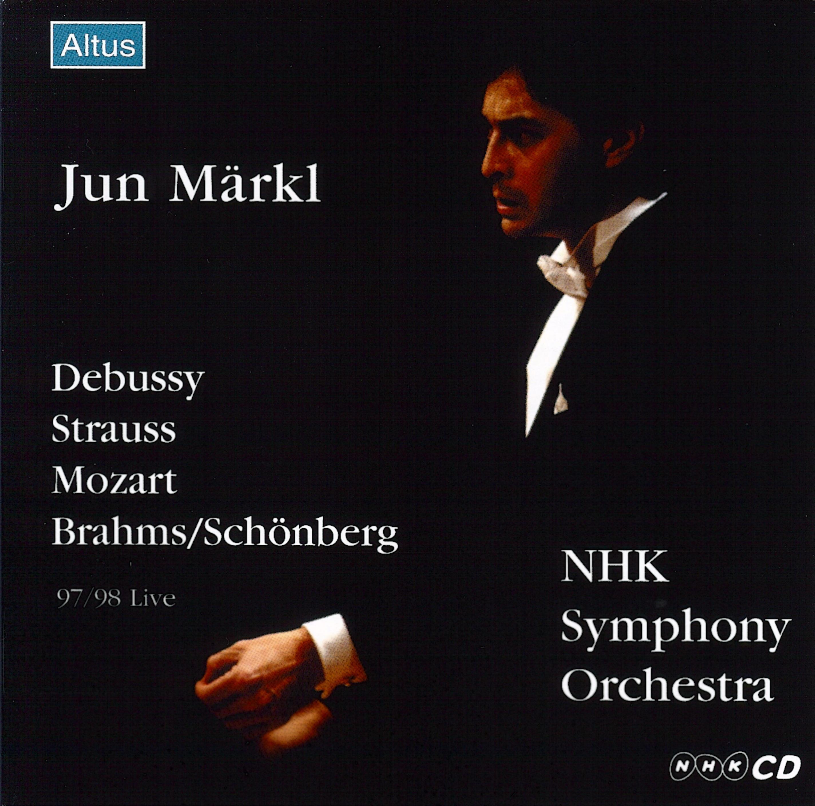 ALT006_007_Märkl / NHK so. - Brahms / Schönberg : Piano Quartet No.1 etc. (2CD)