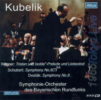 ALT010_Kubelik / BRSO - Dvořák : Symphony No.9 etc. (1965 Tokyo Live)