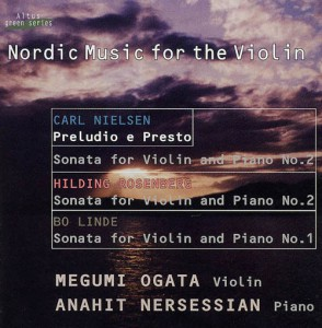 Megumi Ogata (Vn) - Nordic Music for the Violin