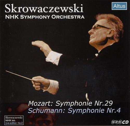 Skrowaczewski / NHK so. - Schumann : Symphony No.4 etc.