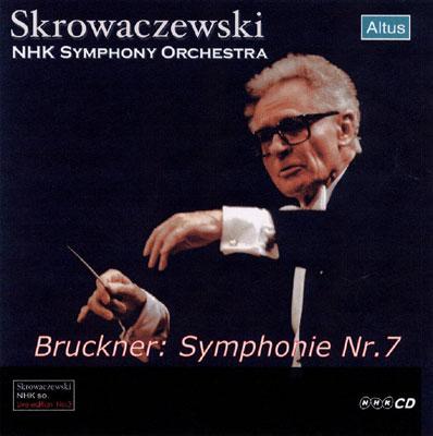 Skrowaczewski / NHK so. - Bruckner : Symphony No.7