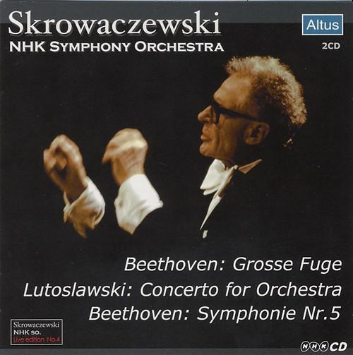 Skrowaczewski / NHK so. - Beethoven : Symphony No.5 etc. (2CD)