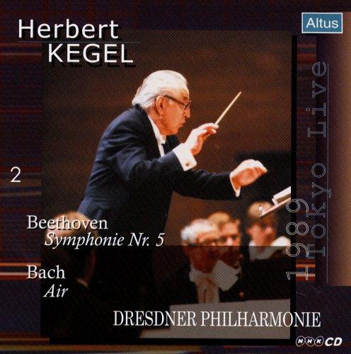 Kegel / Dresdner Philharmonie - Beethoven : Symphony No.5 etc. (1989 Tokyo Live)