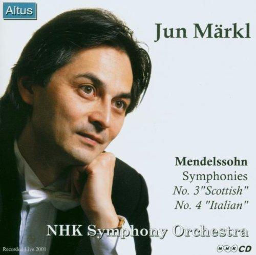 Märkl / NHK so. - Mendelssohn : Symphony No.3 & 4