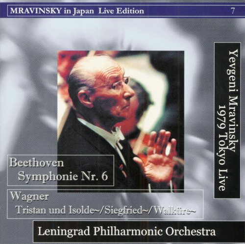 Mravinsky - Beethoven : Symphony No.6 etc. (1979 Tokyo Live)