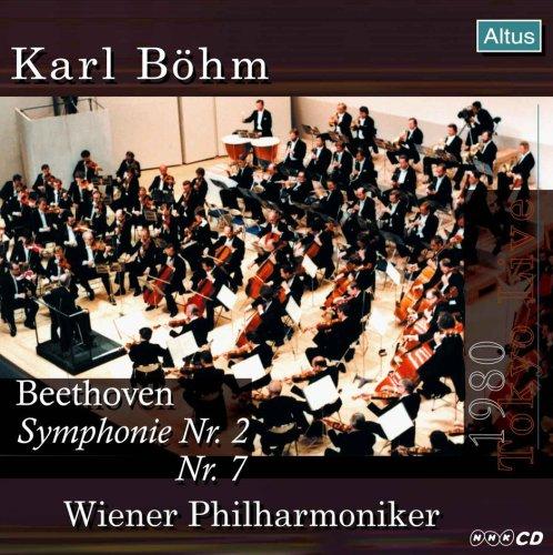 Böhm / VPO - Beethoven : Symphony No.2 & 7 (1980 Tokyo Live)