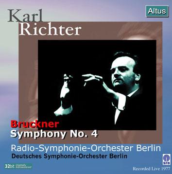 Karl Richter / RSO Berlin - Bruckner : Symphony No.4