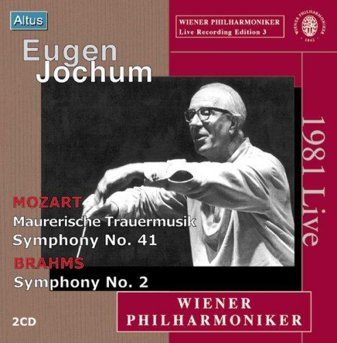 Jochum / VPO - Mozart & Brahms : Symphony etc. (2CD)
