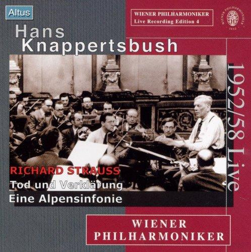 Knappertsbusch / VPO - R. Strauss : Eine Alpensinfonie etc. (Mono)