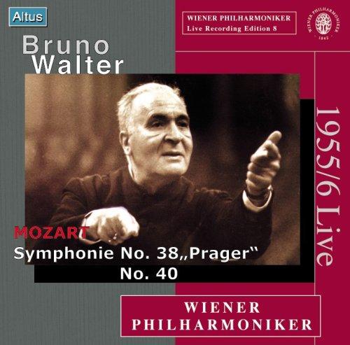 Walter / VPO - Mozart : Symphony No. 38 & 40 (Mono)