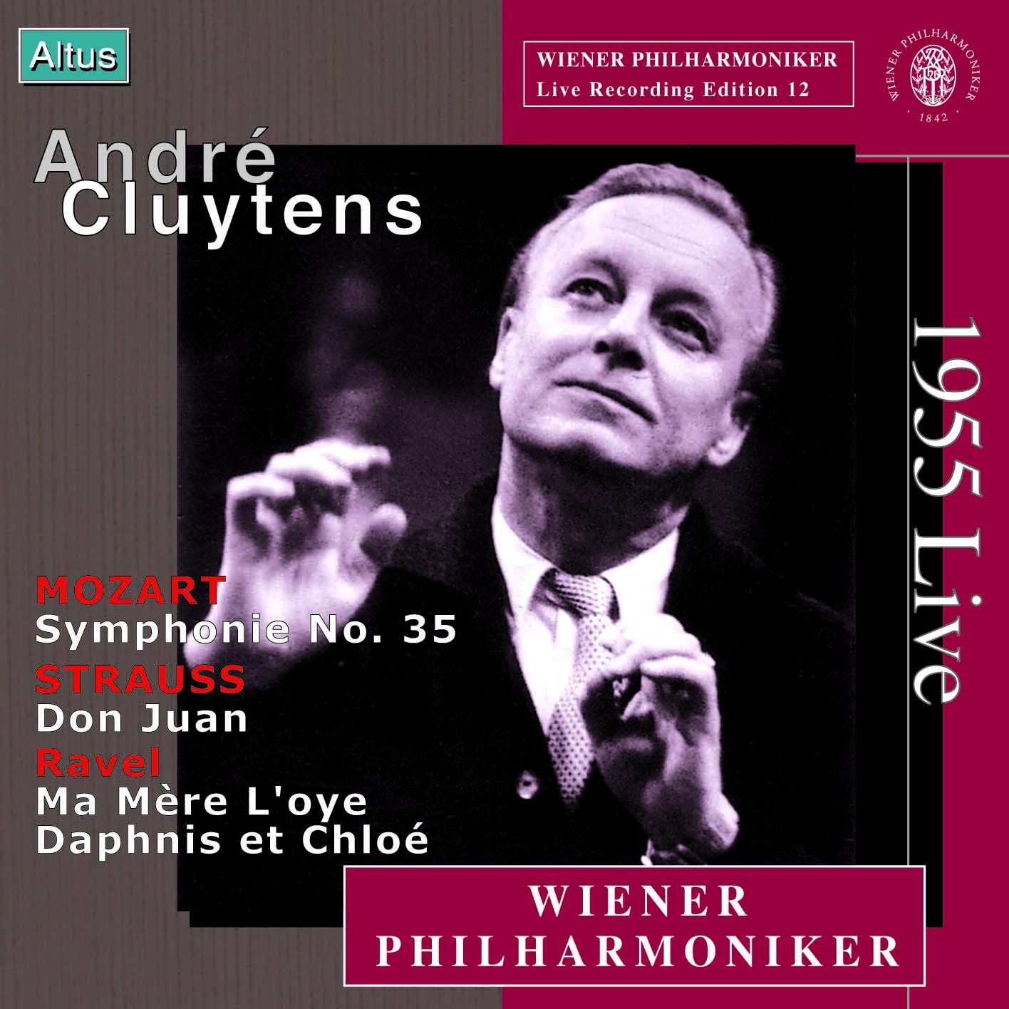 """Cluytens / VPO - Ravel : """"Daphnis et Chloé"""" Suite No.2 etc. (Mono)"""