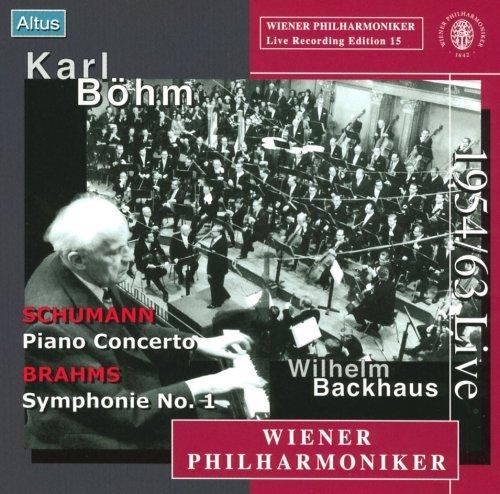 Böhm / Backhaus / VPO - Schumann : Piano Concerto , Brahms : Symphony No.1 (Mono)