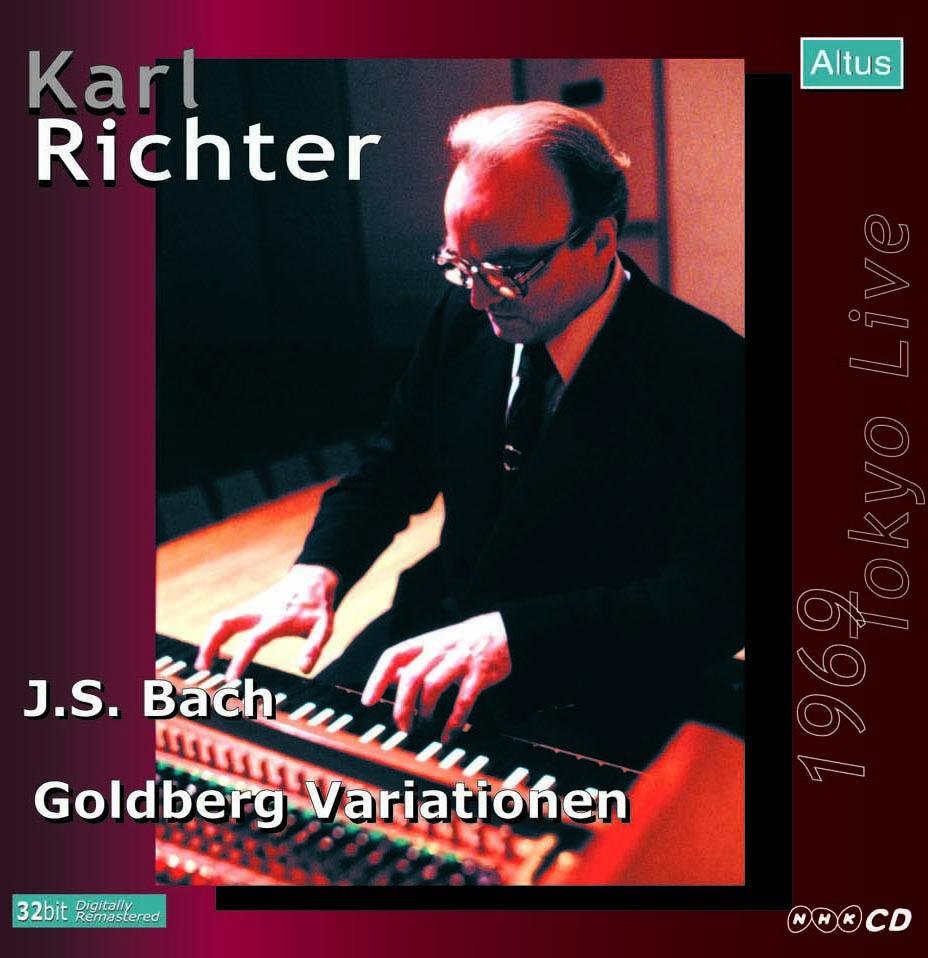 Karl Richter (Cemb) - Bach : Goldberg Variations (1969 Tokyo Live)