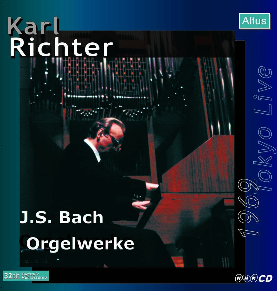 Karl Richter (Org) - J. S. Bach : Works for Organ (1969 Tokyo Live)
