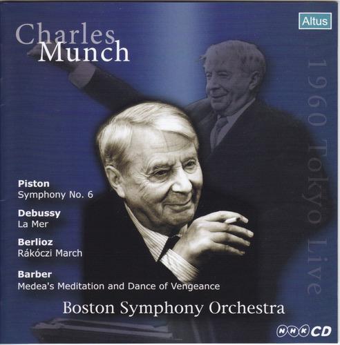 Munch / BSO - Debussy : La Mer etc. (1960 Tokyo Live)