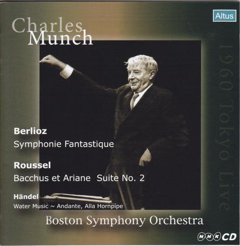 Munch / BSO - Berlioz : Symphonie fantastique etc. (1960 Tokyo Live)