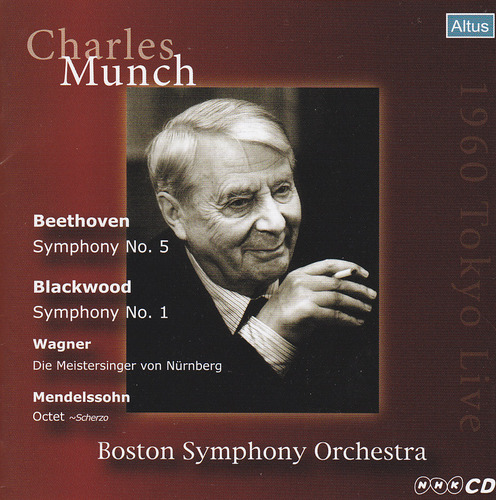 Munch / BSO - Beethoven : Symphony No.5 etc. (1960 Tokyo Live)