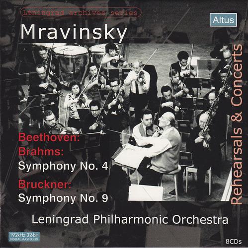 Mravinsky - Rehearsals & Concert Vol.1 Beethoven, Brahms : Symphony No.4 (8CD)