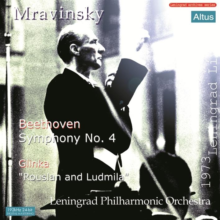 Mravinsky - Beethoven : Symphony No.4 etc. (1973 Leningrad Live)