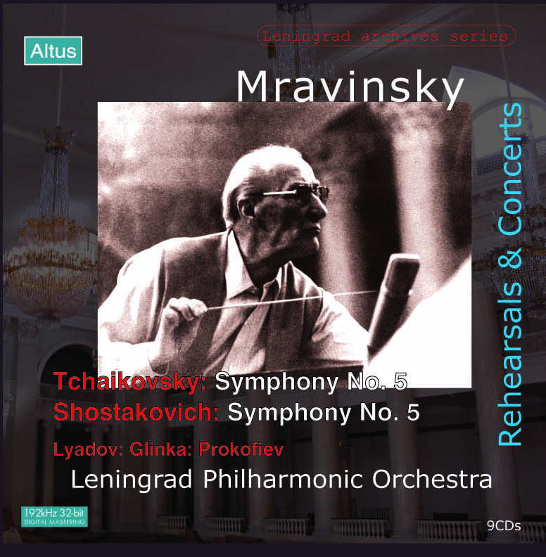 Mravinsky - Rehearsals & Concert Vol.2 Shostakovich & Tchaikovsky : Symphony etc. (9CD)