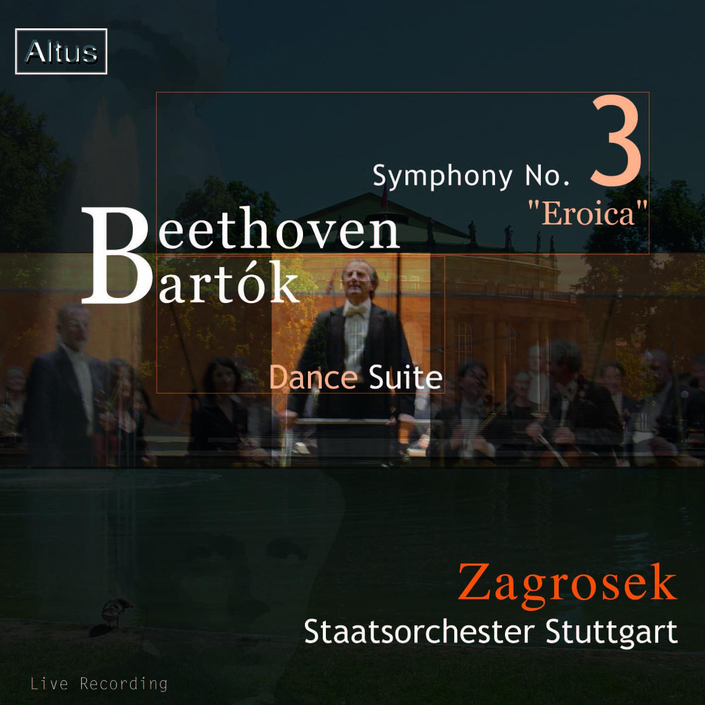 Zagrosek / Staatsorchester Stuttgart - Beethoven : Symphony No.3 etc.