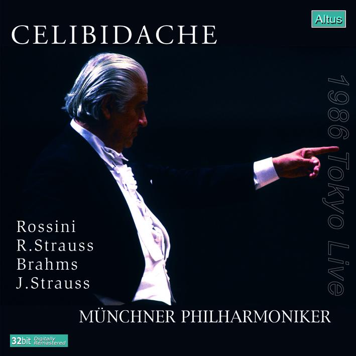 ALT141_2Celibidache / MPhil - Brahms : Symphony No.4 etc. (2CD, 1986 Tokyo Live)