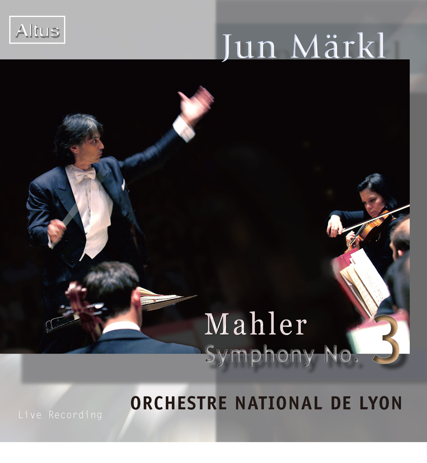 ALT145_6Märkl / National de Lyon - Mahler : Symphony No.3 (2CD)