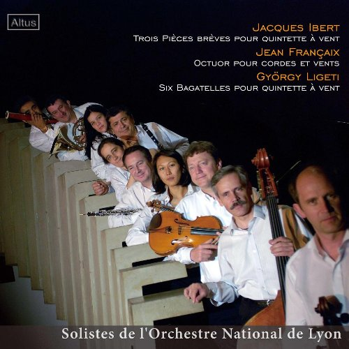 ALT148Soloists of Orchestre National de Lyon - Francaix : Octet etc.