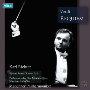 ALT156_7Karl Richter / MPhil - Verdi : Requiem (2CD)
