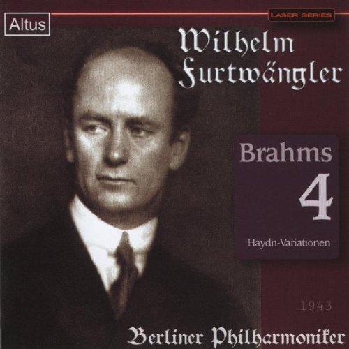 ALT159Furtwängler / BPO - Brahms : Symphony No.4 etc. (Mono)