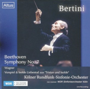 ALT160Bertini / WDR so. - Beethoven : Symphony No.7 etc.