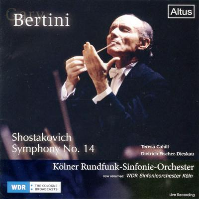 ALT162Bertini / WDR so. - Shostakovich : Symphony No.14