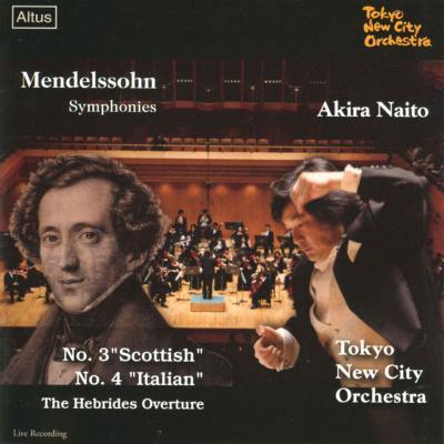 ALT163Naito / Tokyo New City o. - Mendelssohn / Symphony No.3 & 4 etc.