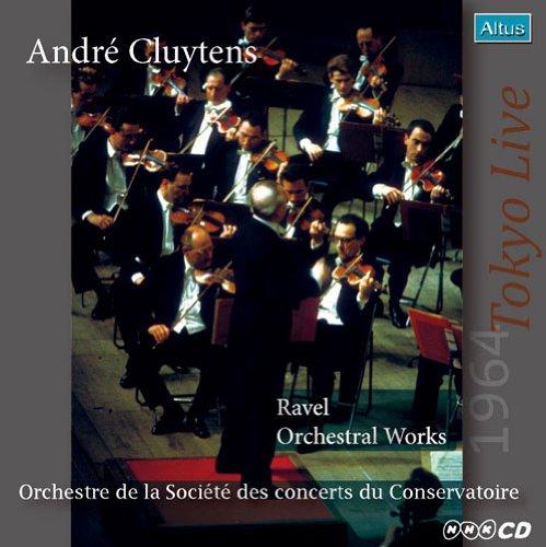 ALT167_168Cluytens / Conservatoire - Ravel Orchestral Works (2CD, 1964 Tokyo Live, Mono & Stereo)