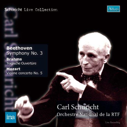 ALT170_171Schuricht / Ferras / ORTF - Beethoven : Symphony No.3 etc. (2CD, 1955, Mono)