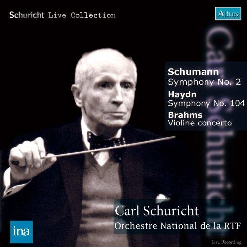 ALT172_173Schuricht / Szeryng / ORTF - Schumann : Symphony No.2 etc. (2CD, Mono)